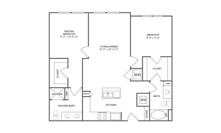 Studio, 1, & 2 Bedroom Apts. in Durham, NC | Liberty Warehouse