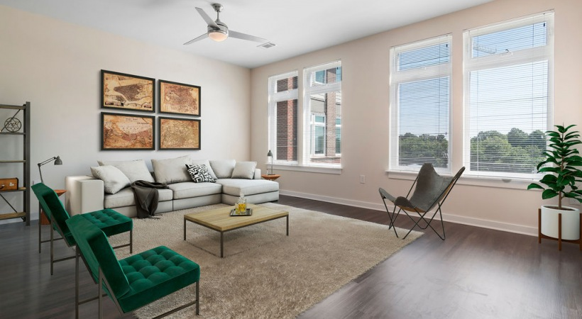 B3 Living Room with View